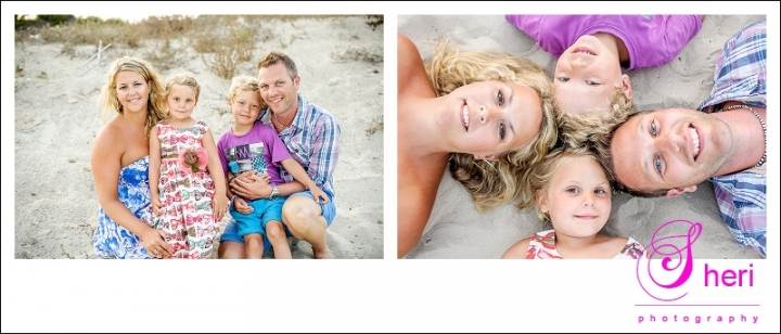 beach family shoot