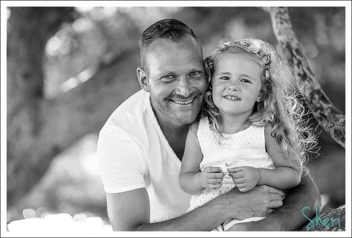 father and daughter in moraira
