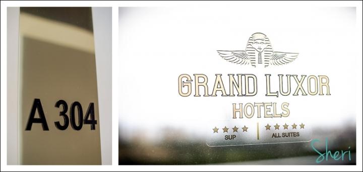 grand luxor wedding prep