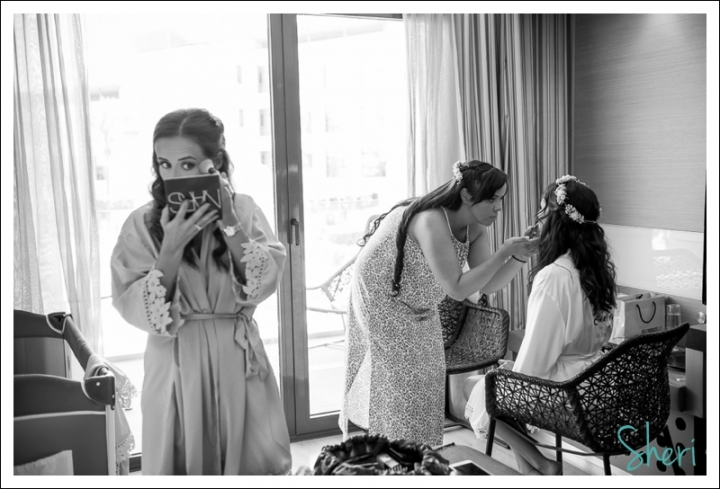 bridal prep la finca golf