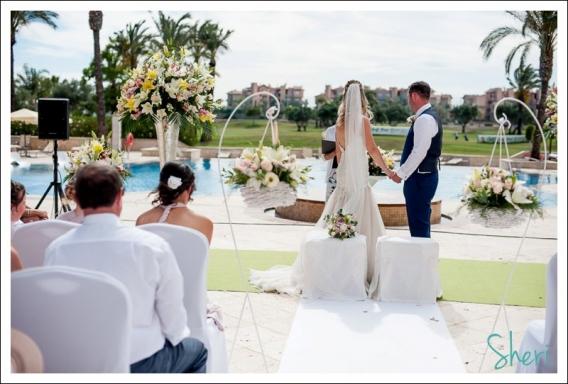 wedding mar menor